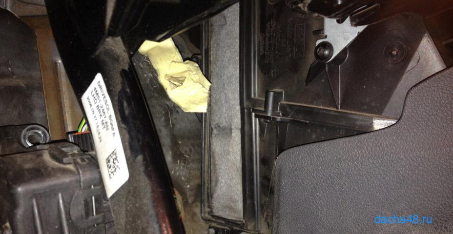 Замена салонного фильтра форд фокус 2 своими руками